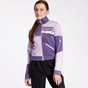 Adidas DANIËLLE CATHARI TRACK TOP -Purple sz XS